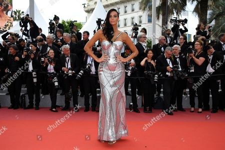Jade Foret arrives for the screening of 'The Wild Pear Tree (Ahlat Agaci)' during the 71st annual Cannes Film Festival, in Cannes, France, 18 May 2018. The movie is presented in the Official Competition of the festival which runs from 08 to 19 May.