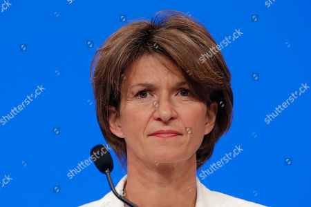 CEO of French gas and power group Engie Isabelle Kocher attends the shareholder meeting of the group in Paris, France