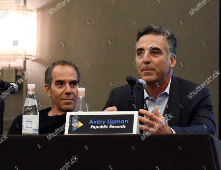 Monte Lipman, Chairman and Founder Republic Records, and Avery Lipman, President and Founder Republic Records
