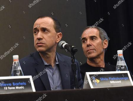 Silvio Pietroluongo, VP of Charts and Data Development Billboard, and Monte Lipman, Chairman and Founder Republic Records