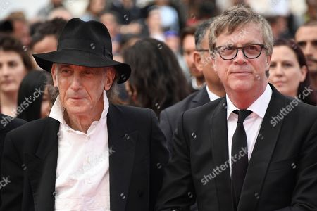 Edward Lachman, Todd Haynes. Cinematographer Edward Lachman, left, and director Todd Haynes pose for photographers upon arrival at the premiere of the film 'The Wild Pear Tree' at the 71st international film festival, Cannes, southern France