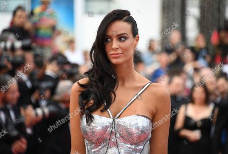 Model Jade Foret poses for photographers upon arrival at the premiere of the film 'The Wild Pear Tree' at the 71st international film festival, Cannes, southern France