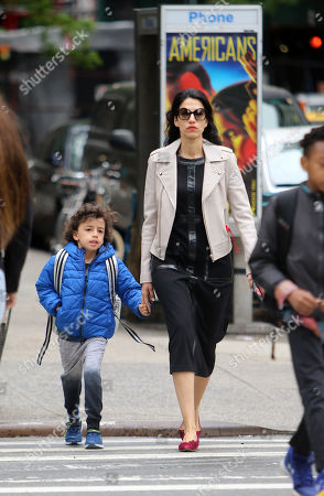 Editorial picture of Huma Abedin out and about, New York, USA - 18 May 2018