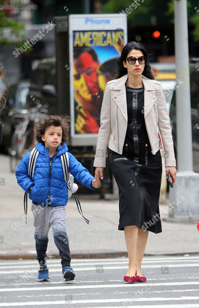 Editorial photo of Huma Abedin out and about, New York, USA - 18 May 2018