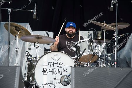 David Hidalgo, Jr. of The Bronx performs at the Rock On The Range Music Festival at Mapfre Stadium, in Columbus, Ohio