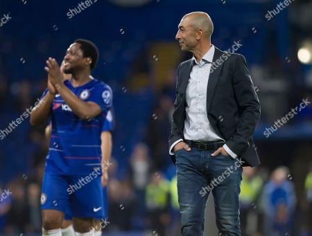 Roberto Di Matteo of Chelsea Legends, Chelsea Legends v Inter Milan Forever, Ray Wilkins Memorial Match, Stamford Bridge, London United Kingdom, 18th May 2018