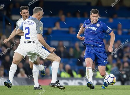 Michael Ballack of Chelsea Legends in action, Chelsea Legends v Inter Milan Forever, Ray Wilkins Memorial Match, Stamford Bridge, London United Kingdom, 18th May 2018