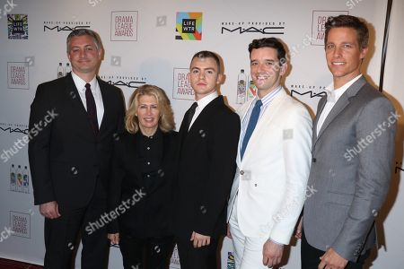 Jack DiFalco, Michael Urie and Ward Horton, cast of 'Torch Song'