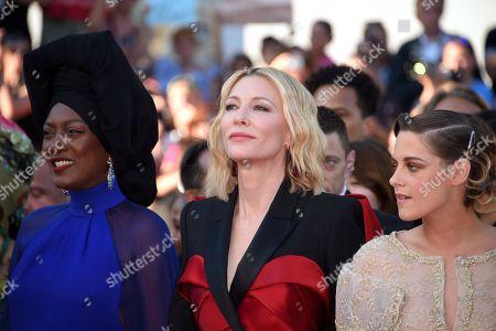 Cate Blanchett, Khadja Nin and Kristen Stewart