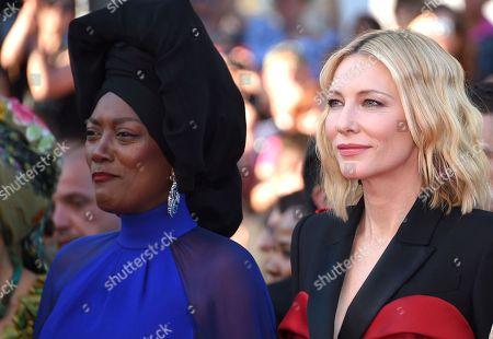 Cate Blanchett and Khadja Nin