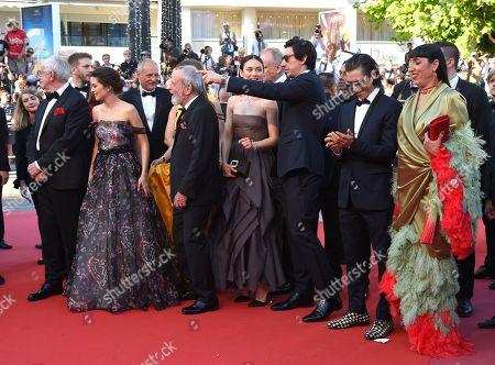 Cate Blanchett, Denis Villeneuve, Chang Chen, Ava DuVernay, Lea Seydoux, Kristen Stewart, Khadja Nin, Andrey Zvyagintsev and Robert Guediguian