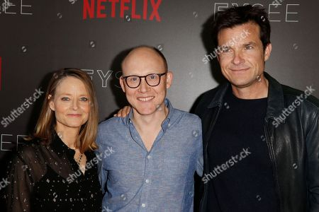Stock Picture of Jodie Foster, Chris Ryan and Jason Bateman
