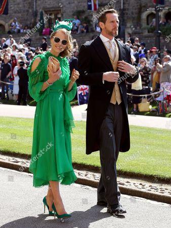 Will Greenwood and Caroline Greenwood