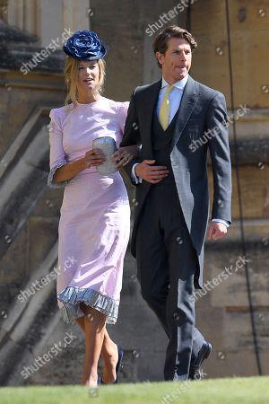 Stock Photo of Olivia Hunt and Nicholas Wilkinson