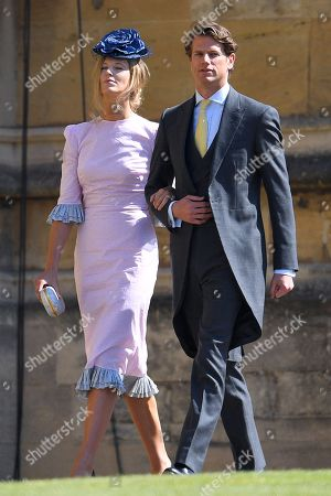 Olivia Hunt and Nicholas Wilkinson