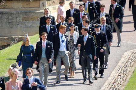 Mark Dyer and Jake Warren gather for the royal wedding at Windsor Castle