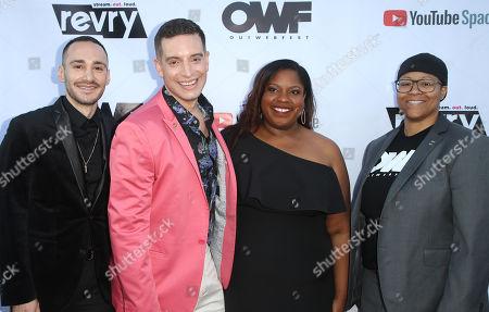 Christopher Rodriguez, Damian Pelliccione, Alia J. Daniels LaShawn McGhee