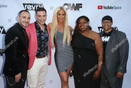 Christopher Rodriguez, Damian Pelliccione, Gigi Gorgeous, Alia J. Daniels LaShawn McGhee