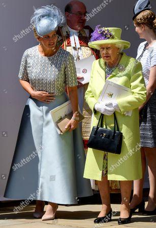 Sophie Countess of Wessex and Queen Elizabeth II