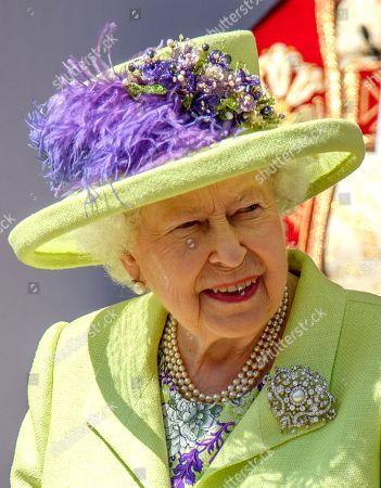 Stock Picture of Queen Elizabeth II