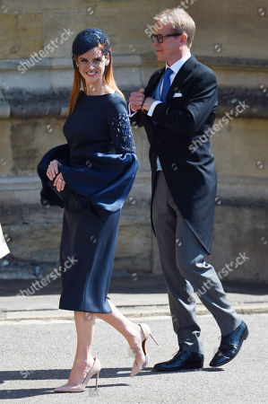 Stock Photo of Sarah Rafferty and Santtu Seppala
