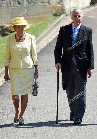 Norma Major and Sir John Major