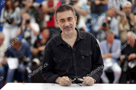 Turkish director Nuri Bilge Ceylan poses during the photocall for 'The Wild Pear Tree  (Ahlat Agaci)' at the 71st annual Cannes Film Festival, in Cannes, France, 19 May 2018. The movie is presented in the Official Competition of the festival which runs from 08 to 19 May.