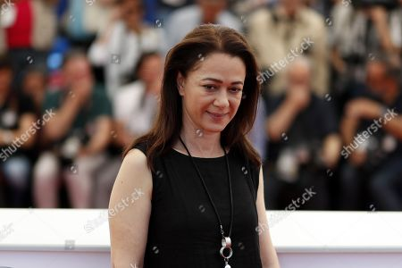 Stock Photo of Turkish actress Bennu Yildirimlar poses during the photocall for 'The Wild Pear Tree  (Ahlat Agaci)' at the 71st annual Cannes Film Festival, in Cannes, France, 19 May 2018. The movie is presented in the Official Competition of the festival which runs from 08 to 19 May.