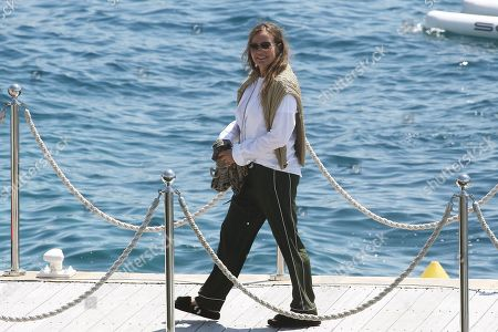 Editorial picture of Eva Cavalli  out and about, 71st Cannes Film Festival, France - 18 May 2018