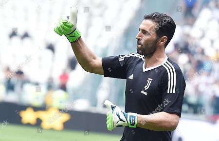 Editorial photo of Juventus FC vs Hellas Verona in Serie A, Turin, Italy - 19 May 2018
