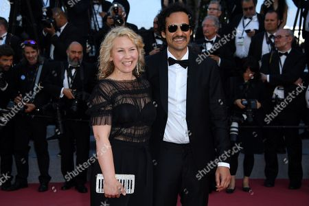 Iranian director Ali Abbasi and Swedish actress Eva Melander arrive for the screening of 'The Man who Killed Dom Quixote' and Closing Awards Ceremony of the 71st annual Cannes Film Festival, in Cannes, France, 19 May 2018.