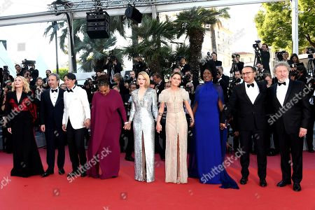 Andrey Zvyagintsev, Khadja Nin, Cate Blanchett, Kristen Stewart, Lea Seydoux, Ava DuVernay, Chang Chen