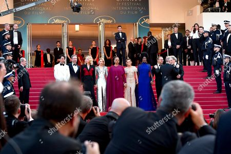 Editorial picture of Closing Award Ceremony, Arrivals, 71st Cannes Film Festival, France - 19 May 2018