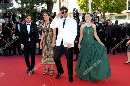 Stock Photo of Kantemir Balagov, Annemarie Jacir, Benicio Del Toro, Virginie Ledoyen
