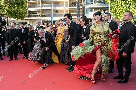 Jordi Molla, Sergi Lopez, Rossy De Palma, Olga Kurylenko, Adam Driver, Terry Gilliam, Joana Ribeiro, Jonathan Pryce