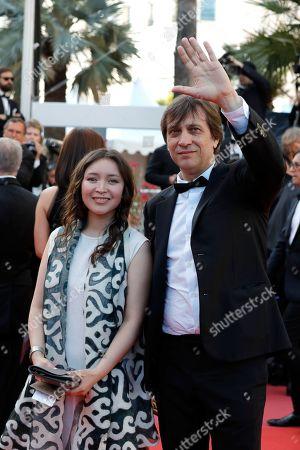 Stock Photo of Sergei Dvortsevoy and Samal Yeslyamova