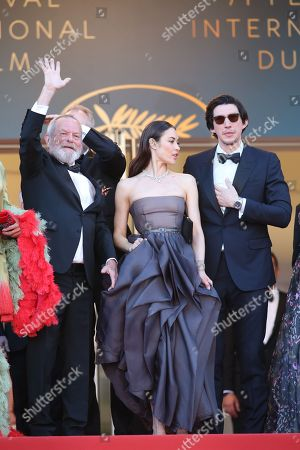 Terry Gilliam, Joana Ribeiro and Jonathan Pryce