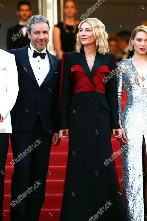 Stock Picture of Cate Blanchett and Denis Villeneuve