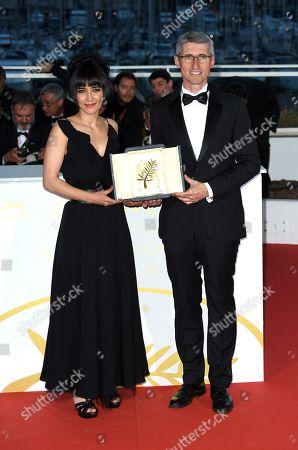 Fabrice Aragno and Mitra Farahani
