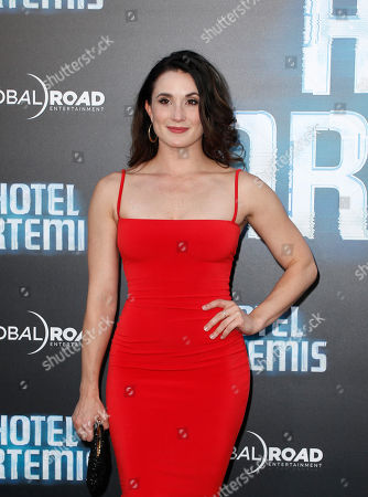 Editorial photo of 'Hotel Artemis' film premiere, Los Angeles, USA - 19 May 2018
