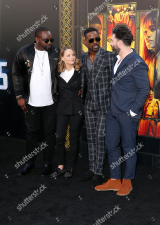 Brian Tyree Henry, Jodie Foster, Sterling K. Brown and Drew Pearce