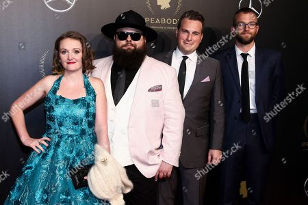 Laura Ellis, Sean Cannon, Brendan McCarthy, Jake Ryan. Laura Ellis, from left, Sean Cannon, Brendan McCarthy and Jake Ryan attend the 77th Annual Peabody Awards at Cipriani Wall Street, in New York