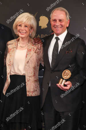 Lesley Stahl, Jeff Fager. Lesley Stahl, left, and Jeff Fager, right, attend the 77th Annual Peabody Awards at Cipriani Wall Street, in New York