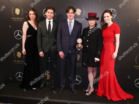 Editorial picture of 77th Annual Peabody Awards, New York, USA - 19 May 2018