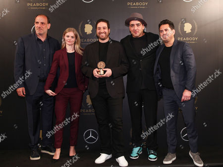 Nick Sandow, Julia Willoughby Nason, Jenner Furst, Chachi Senior, Mike Gasparro. Nick Sandow, from left, Julia Willoughby Nason, Jenner Furst, Chachi Senior and Mike Gasparro attend the 77th Annual Peabody Awards at Cipriani Wall Street, in New York
