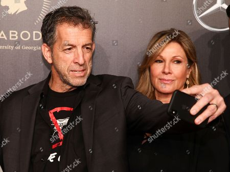 Stock Photo of Kenneth Cole, Maria Cuomo Cole. Kenneth Cole, left, and Maria Cuomo Cole, right, attend the 77th Annual Peabody Awards at Cipriani Wall Street, in New York