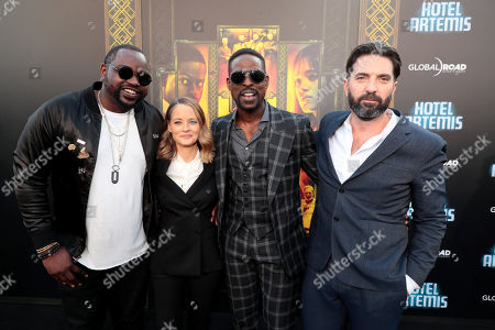 Brian Tyree Henry, Jodie Foster, Sterling K. Brown, Drew Pearce, Director/Writer/Producer,