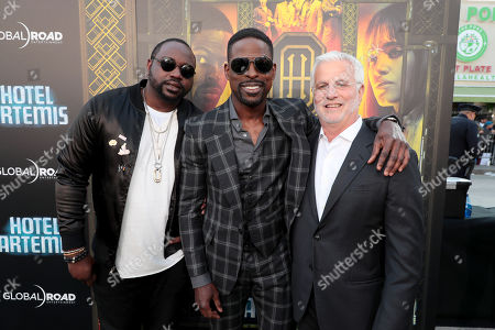 Brian Tyree Henry, Sterling K. Brown, Rob Friedman, Chairman and CEO, TMP Entertainment,