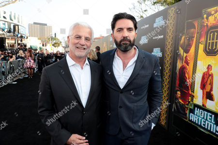 Drew Pearce, Director/Writer/Producer, Rob Friedman, Chairman and CEO, TMP Entertainment,