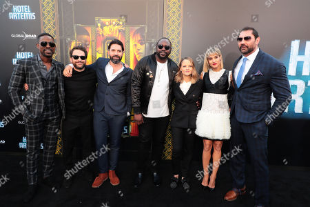 Sterling K. Brown, Charlie Day, Drew Pearce, Director/Writer/Producer, Brian Tyree Henry, Jodie Foster, Sofia Boutella, Dave Bautista